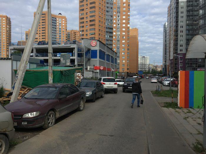 Дорога к метро Девяткино