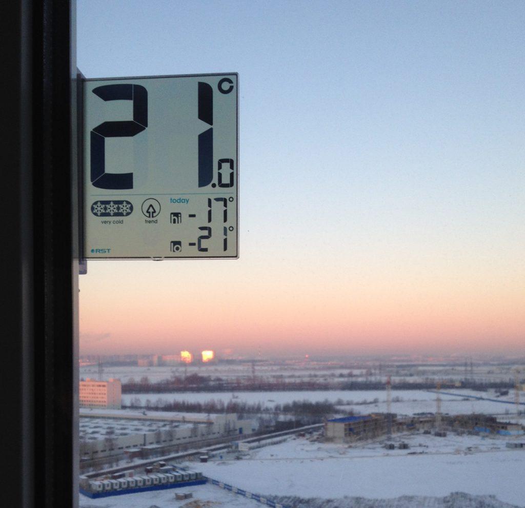 отрицательные температуры на rst 01291