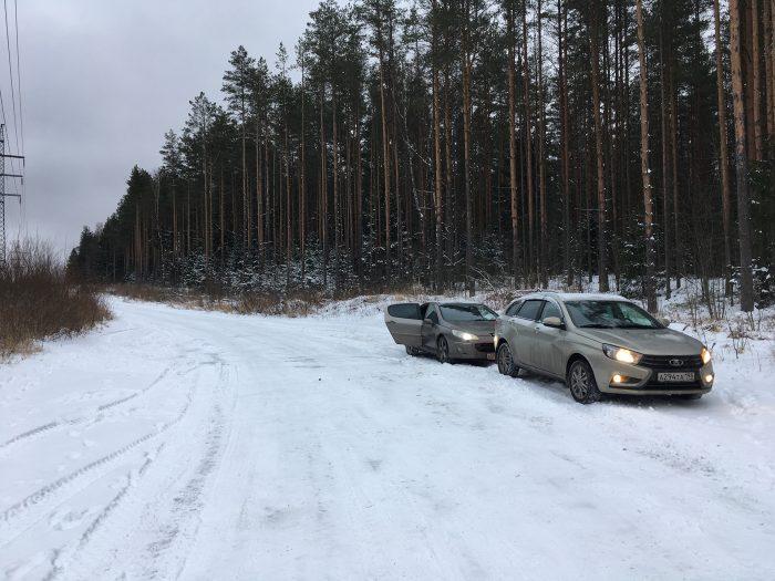 Машины на просеке