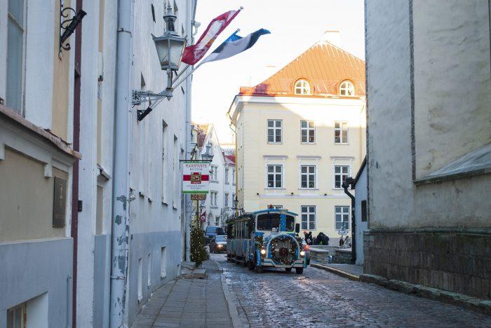 Паравозик в старом Таллине