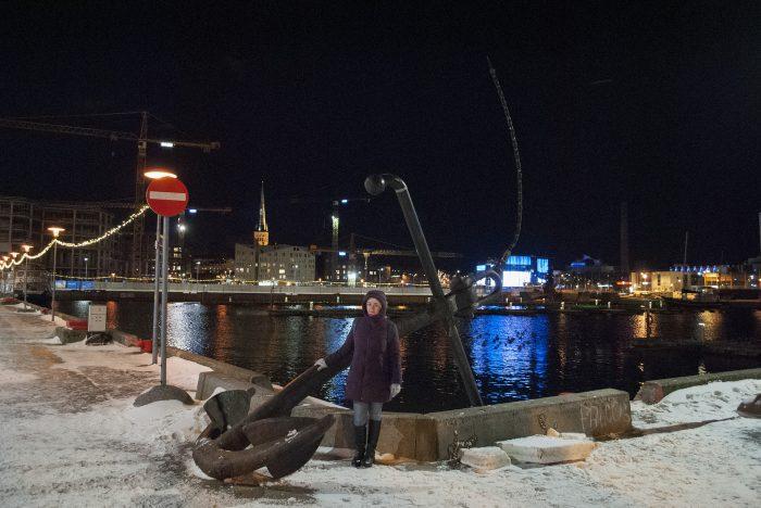 в порту Таллина