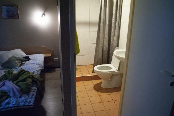 Ванная в номере Lillekula