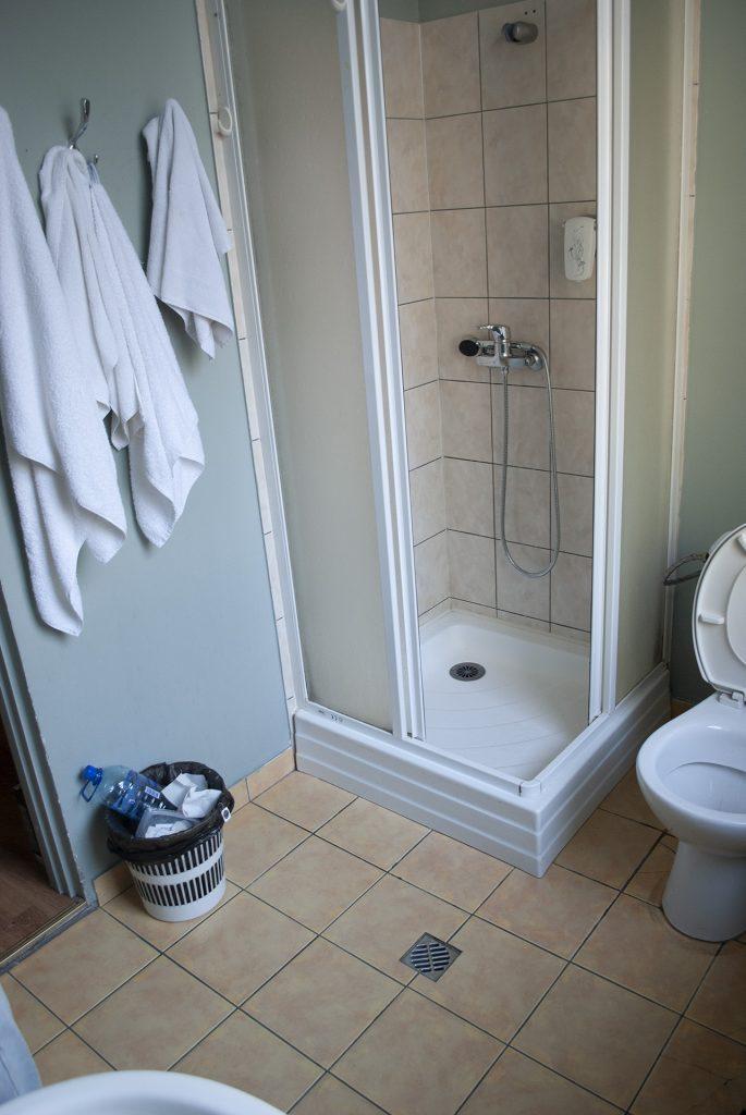 Ванная в Spare Hotel