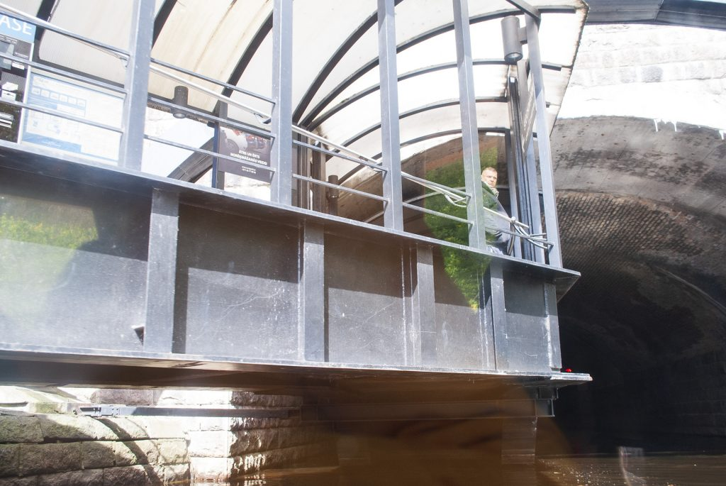 Тоннель у Стокманна вид с канала