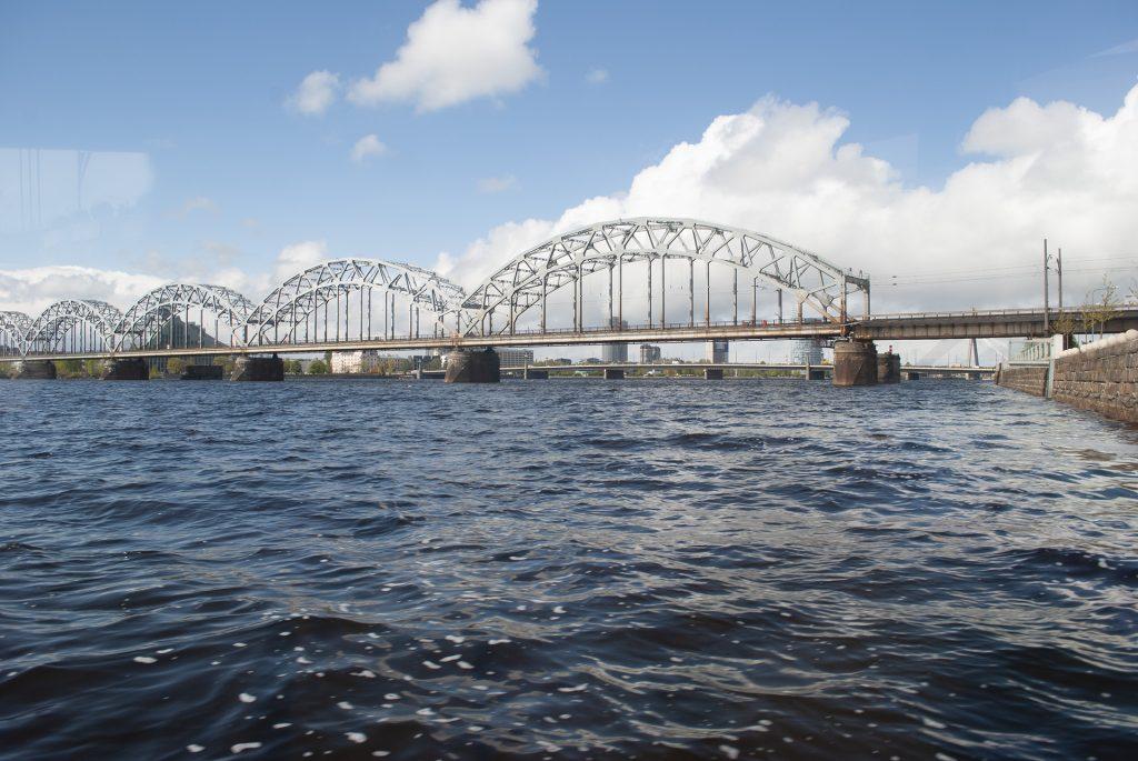 Железнодорожный мост в Риге