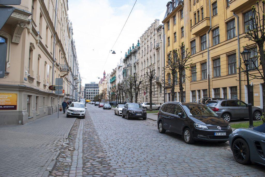 Улица Альберта в Риге