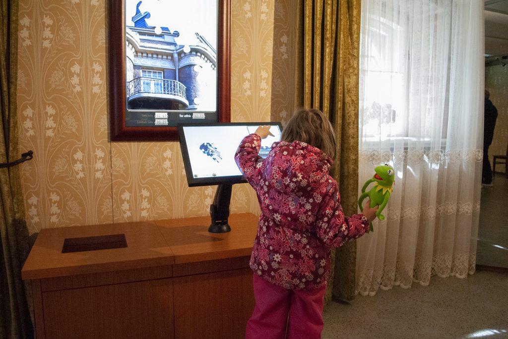 Экспозиция музея Югендштиля для детей