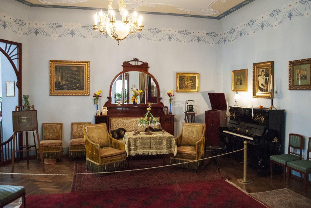 интерьеры комнат в музее югендстиля