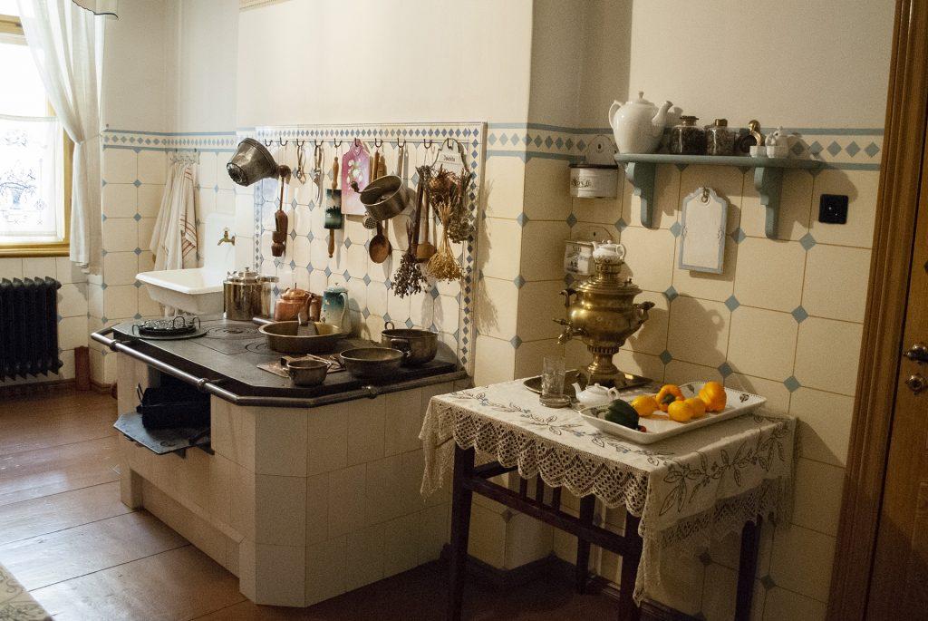 Кухня в музее Югендстиля