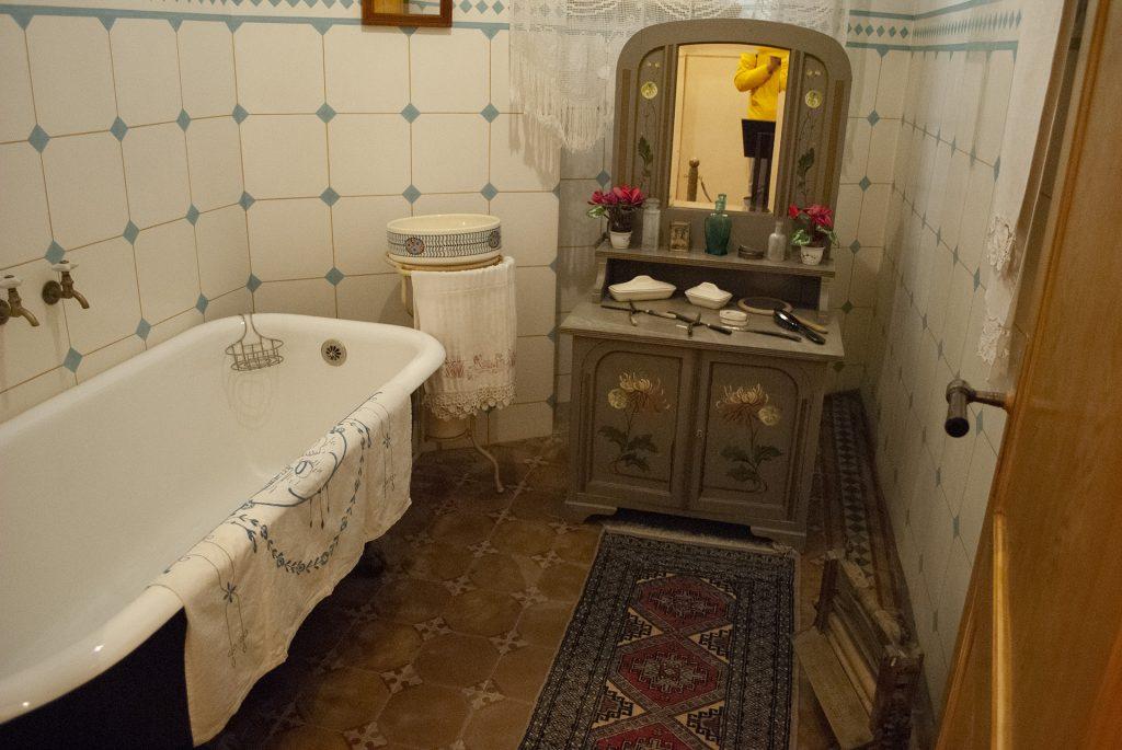 ванная в музее югендштиля
