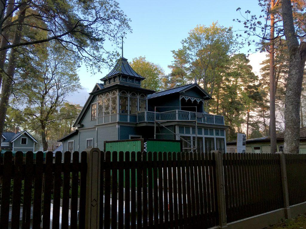 Красивый дом в Юрмале
