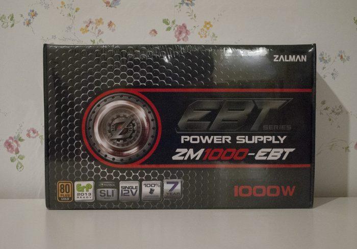 коробка Zalman ZM1000-EBT 1000W