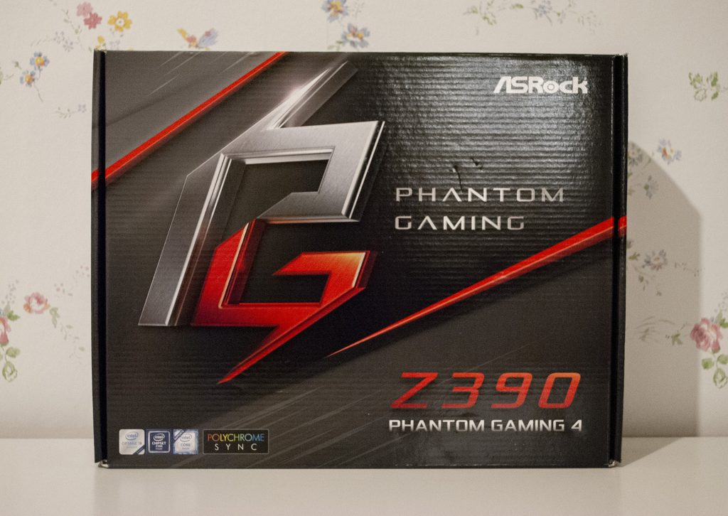 коробка asrock phantom gaming 4 z390