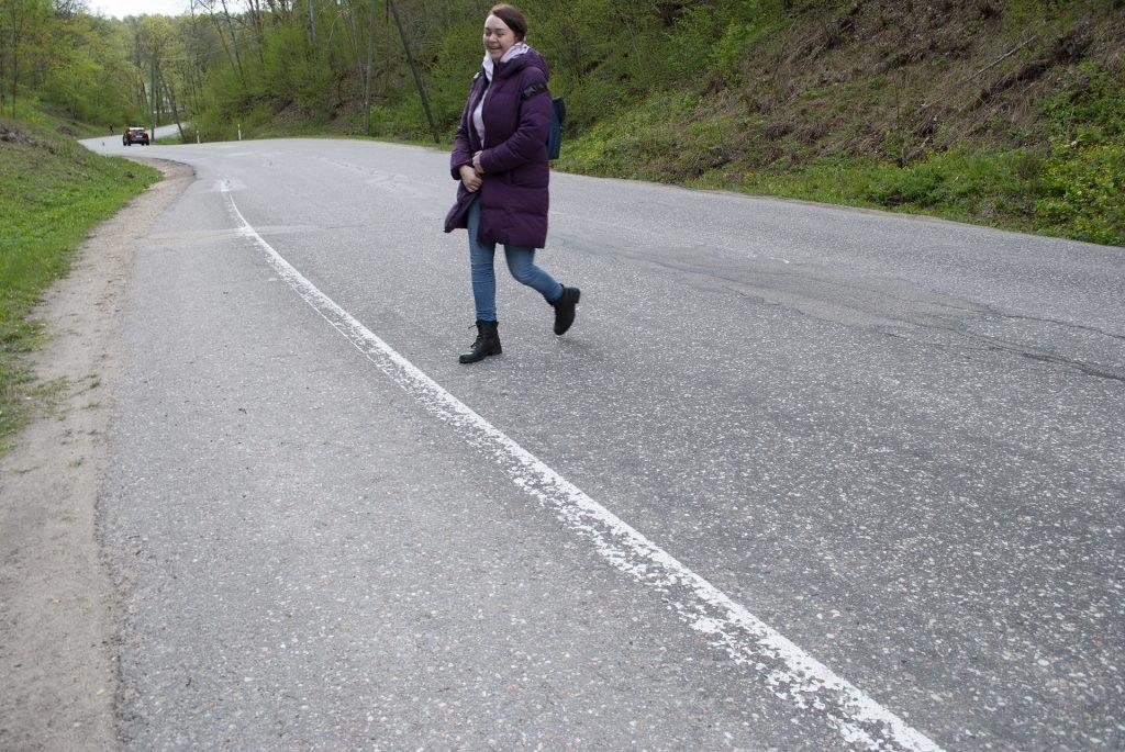 дорога к турайдскому замку
