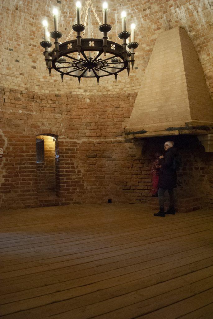 зал в Турайдской башне