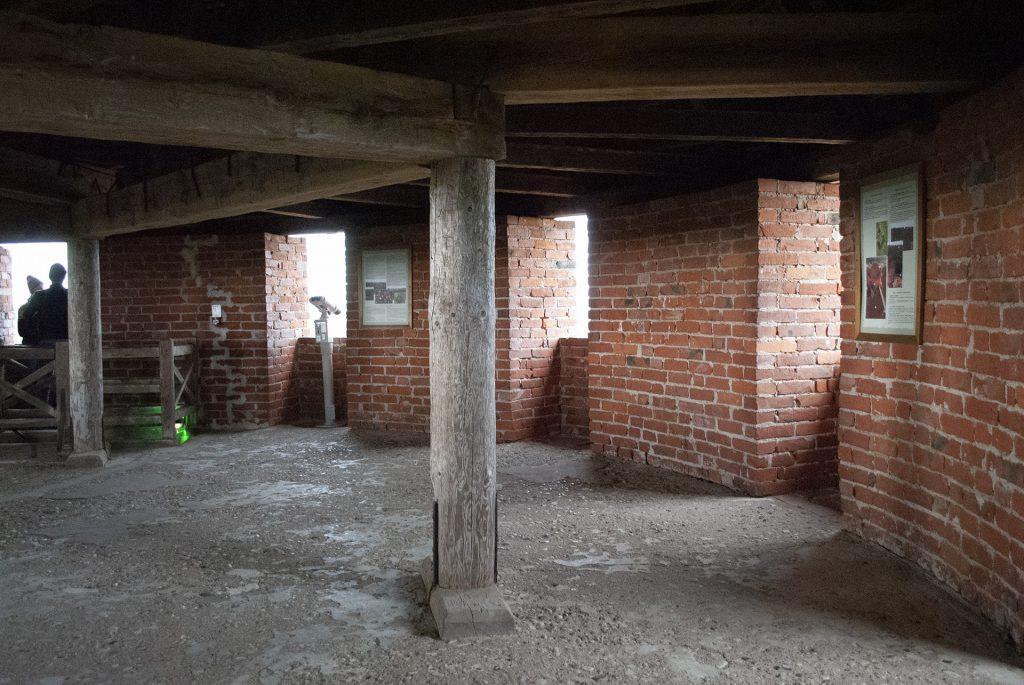 Крыша башни турайдского замка