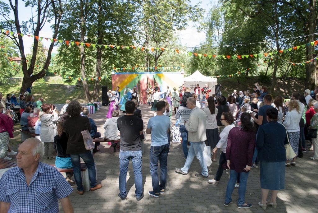 Фестивальная площадка ганзейских дней
