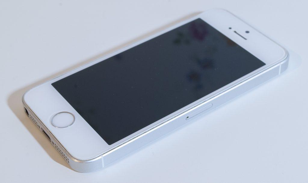 лицевая сторона Apple iPhone SE 16 gb