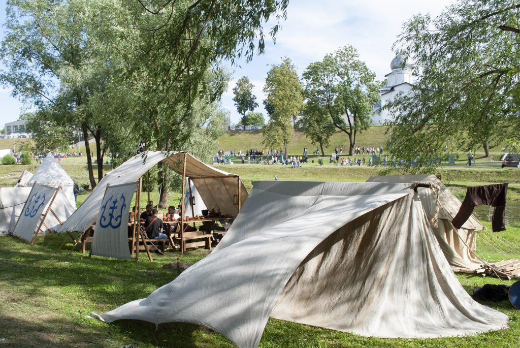 Палатка клубов исторической реконструкции