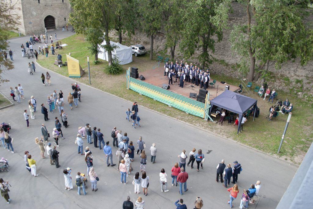 немецкий хор под Ольгинским мостом