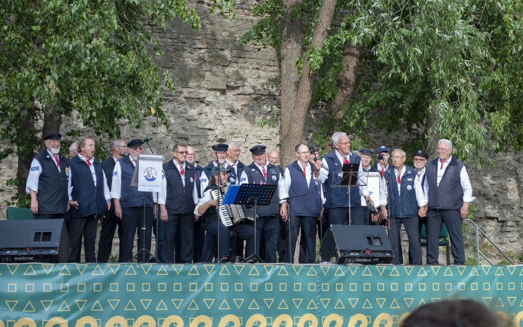 немецкий хор в ганзейские дни