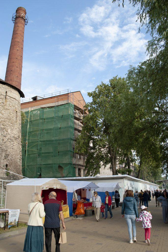 ремонт здания ТЭЦ на набережной великой