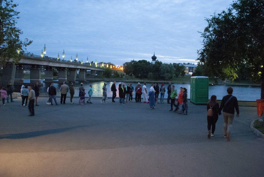 туалет под ольгинским мостом на фестивале