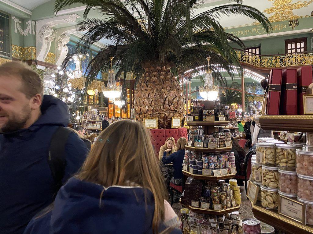 елисеевский магазин изнутри на стандартную камеру iphone 11 pro