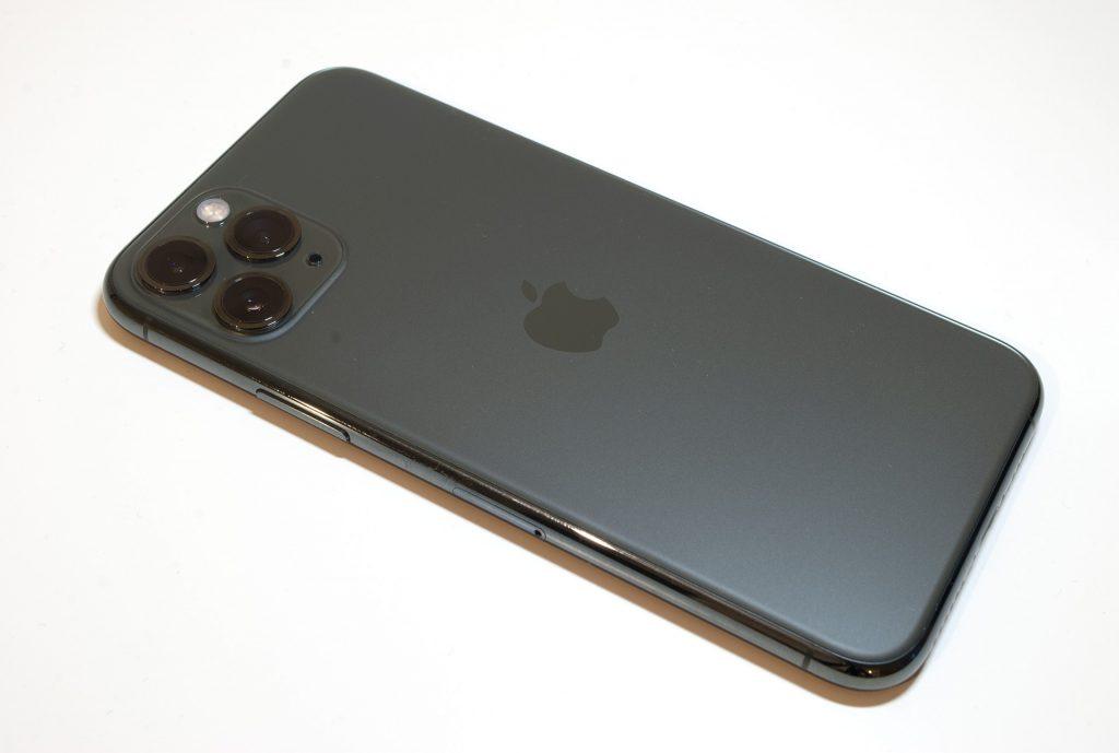 цвет задней крышки зелёного iphone 11 pro