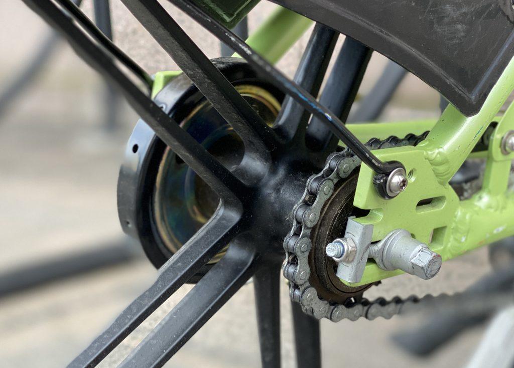 smartbike задний тормоз