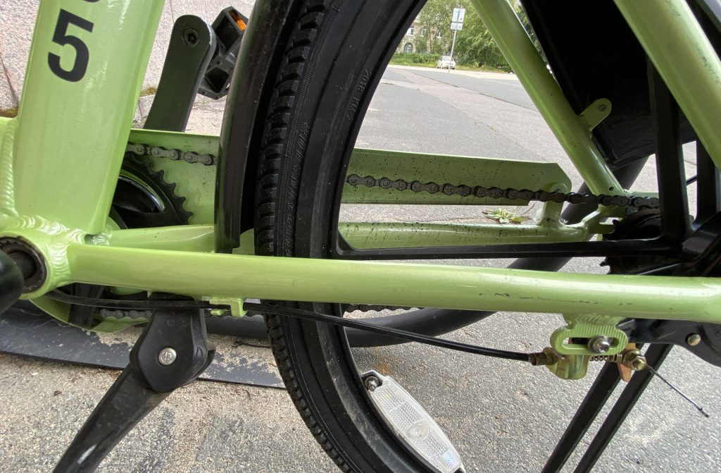 передняя и задняя звёзды велосипеда smartbike