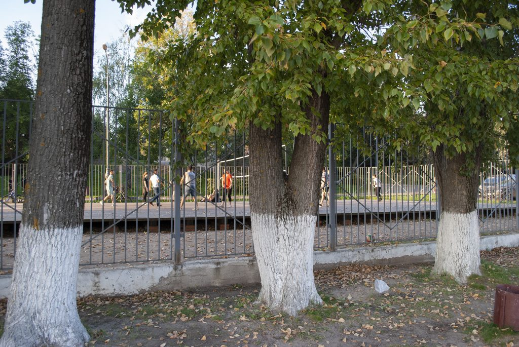 Волейбол на набережной в твери
