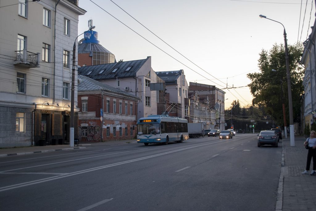 Троллейбус в Твери