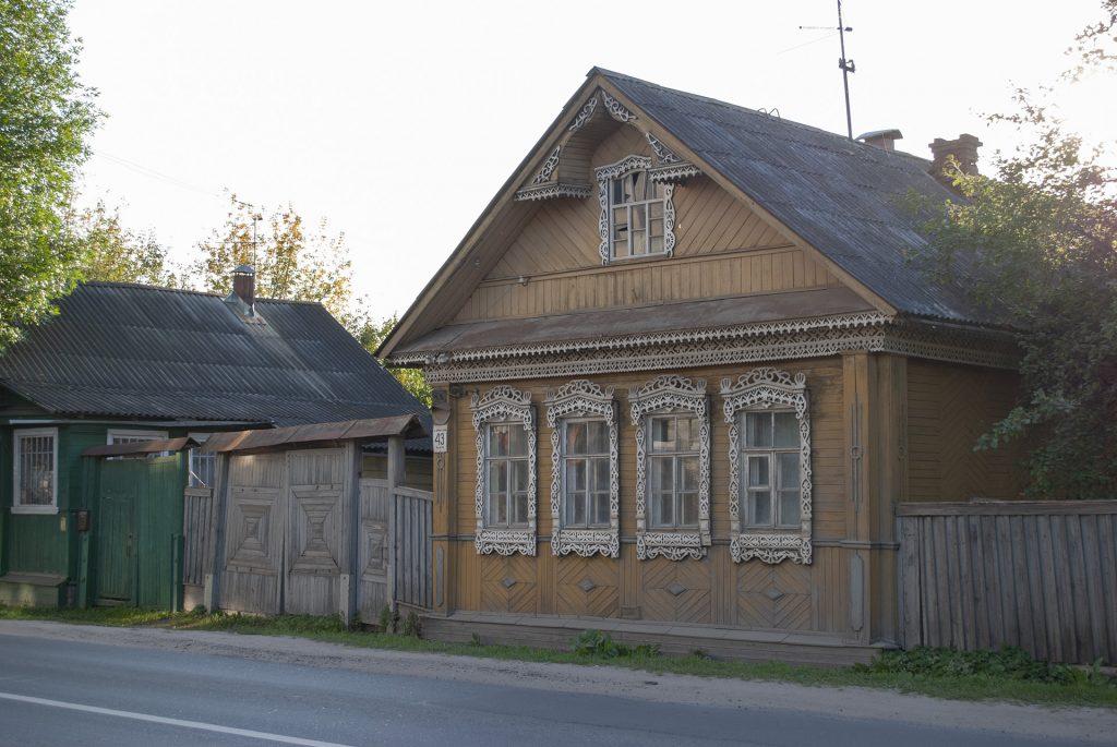 деревянные дома в твери
