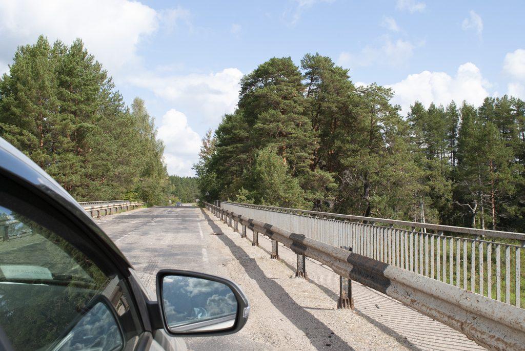 Мост по дороге в Калязин из Твери