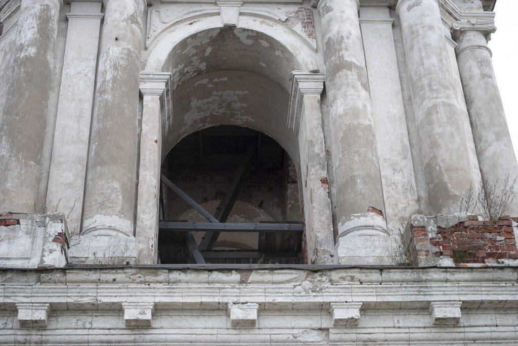 мостки на колокольне Калязина