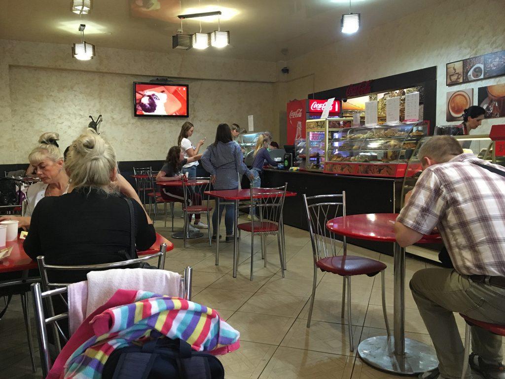 кафе виктория в Калязине