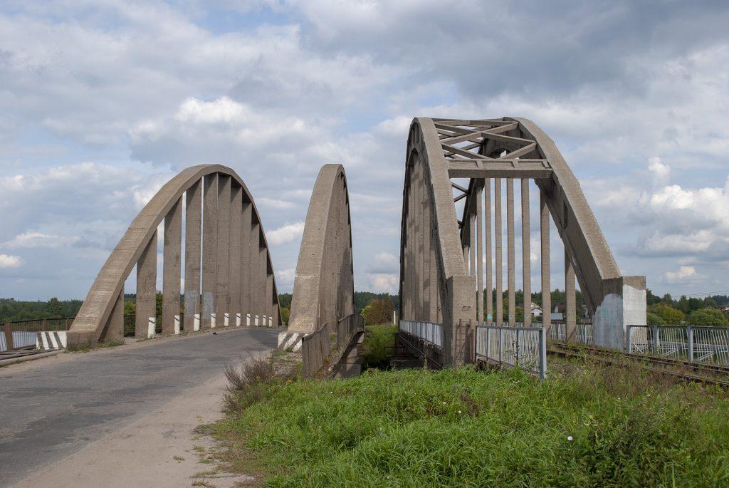 мост через Жабню Калязин