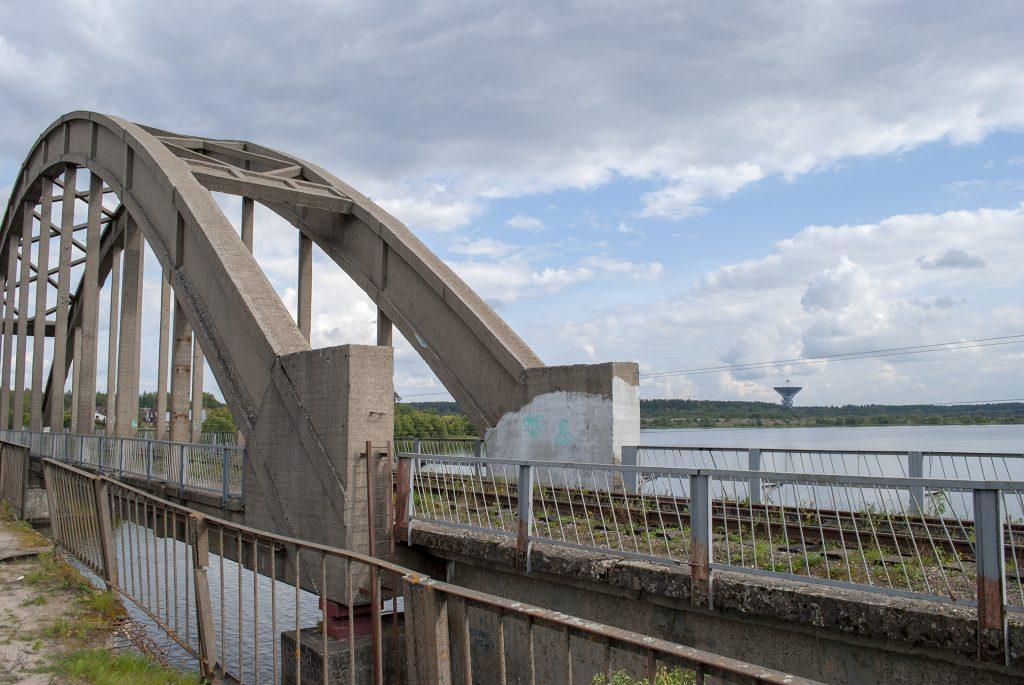мост и обсерватория Калязина