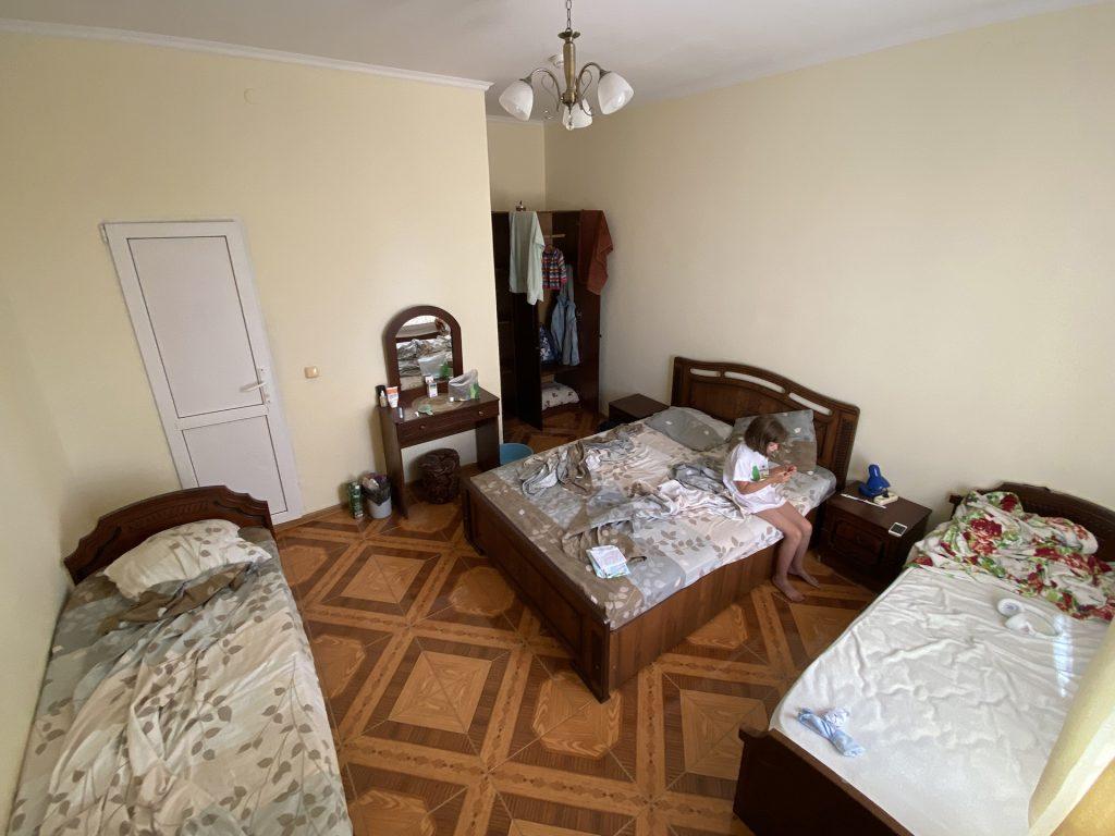 Наш номер в отеле в курортном городке Адлера