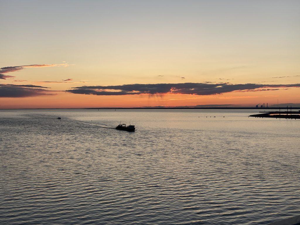 корабль в финском заливе