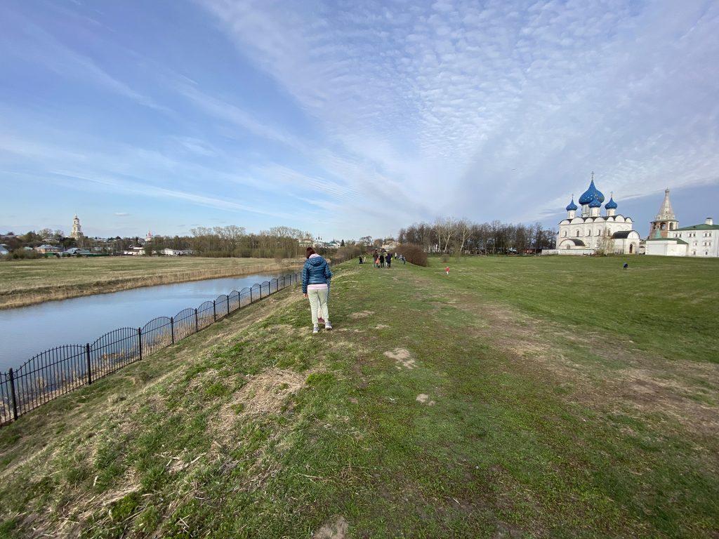 территриия Суздальского кремля