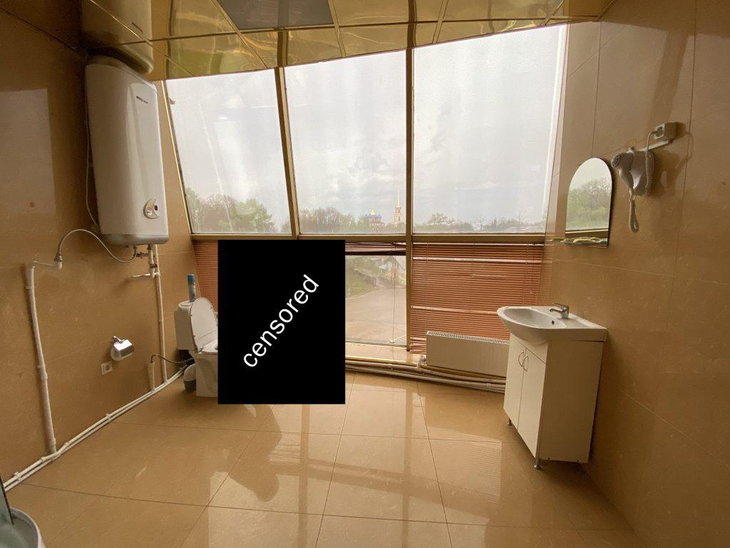 туалет в гостинице кремлёвская в рязани