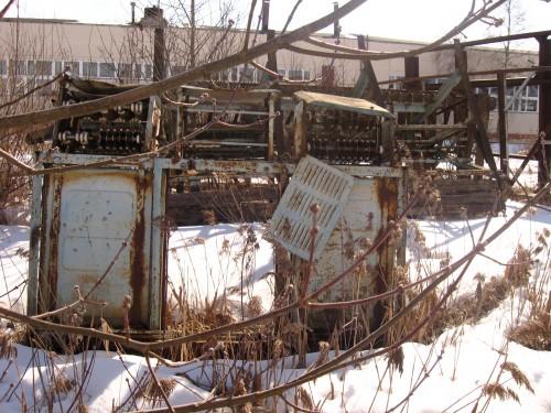 Ржавые трансформаторы