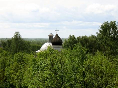 Верхушка церкви Божества Богородицы