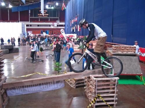 Соревнования по вело триалу