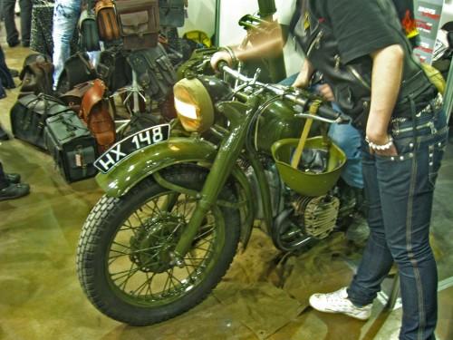 Раритетный мотоцикл