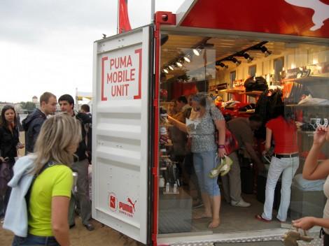 Внутренности Puma Mobile Unit